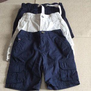 Lot of Boys Shorts Ralph Lauren, Tommy Hilfiger